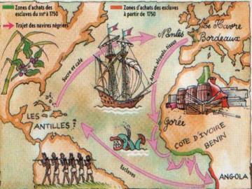A bord du bateau négrier, le récit de l'effroyable ...